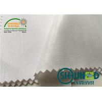 "China Cotton Top Fuse Woven Fusing , Various Handfeeling Woven interfacing by 44"" Width wholesale"