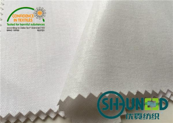 """Quality Cotton Top Fuse Woven Fusing , Various Handfeeling Woven interfacing by 44"""" Width for sale"""