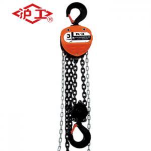 China KII Chain Block 1 Ton Hand Hoist with G80 Chain  Forged Hook Hoist wholesale
