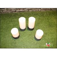 China Outdoor Solar Garden Lights Battery Operated With Switch On The Base wholesale