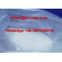 China Anti Estrogen Steroids Anastrozole for Bodybuilding CAS 50-41-9 wholesale