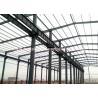 China Sección porta del marco del haz celular resistente para el edificio civil del metal wholesale
