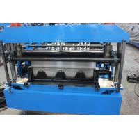 China Decking Sheet Floor Deck Roll Forming Machine Gearbox Drive Easy Installation wholesale