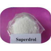 China Methasterone Superdrol Raw Steroid Powder Anabolic Substance Steroid CAS 3381-88-2 on sale