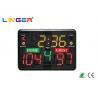 China Custom Portable Electronic Scoreboard With Aluminum Frame , Portable Cricket Scoreboard wholesale