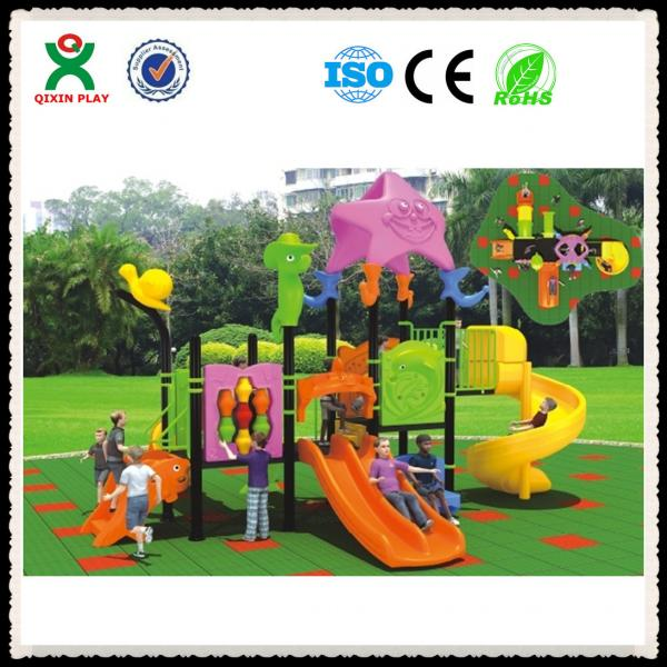 Quality Outdoor playground safety surfacing rubber playground surface QX-050A for sale