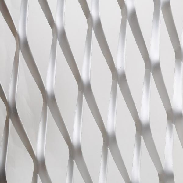 Quality stretching expanded metal sheets / diamond hole expanded steel panels for sale