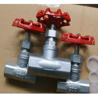 China Water Wcb / Cf8 / Cf8m Thread End Forged Steel Globe Valve Compact And Sturdy Design wholesale