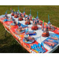 China Cars theme Kids Birthday Party Decoration Set Party Supplies Baby Birthday Pack event party supplies wholesale