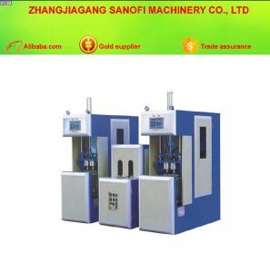 China 330ml - 2000ml Semi-automatic Water Bottle Stretch Blow Moulding Making Machine on sale