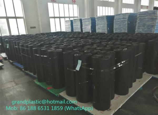 Quality 2MM thick black PP corrugated plastic floor protection sheet and rolls for sale