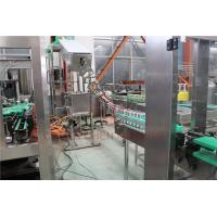 China Industrial Beer Bottle Filling Machine With Precision Filling Level on sale