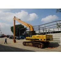 China Q345B + Q690D Excavator Long Boom For Caterpillar E200B with 20 Meters Length wholesale