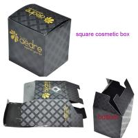 Buy cheap Square Cosmetic Paper Box with UV coating from wholesalers