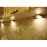 China 1.8W Triangle 120v LED Under Cabinet Light Fixtures , dimmable led puck lights on sale