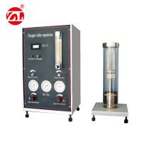 China 220V 50hz Limited Oxygen Index Tester Burning Materials Performance Test Available GB2406 wholesale