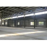 China Latest Pre Assembled Metal Frame Storage Building For Heavy Machinery wholesale