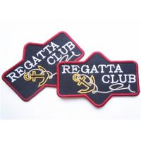 China Popular jeans leather patch labels for clothing Custom Embroidery Patches wholesale