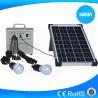 China 10w portable solar enegy system, mini solar lighting kits for rural wholesale