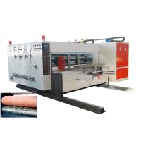 China Automatic Flexo Printing Die-cutting Machine with Removable Slotting, Lead-edge Feeding wholesale
