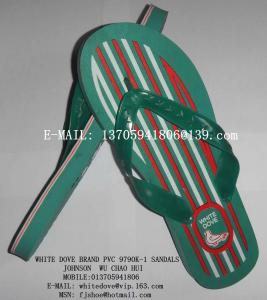 China white dove brand plastic light 790k sandals/slippers  6 wholesale