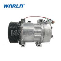 China Auto AC 7H15 Compressor For Scania Truck 10PK 7H15 1531196 1888032 24V Air Conditioner New Model on sale