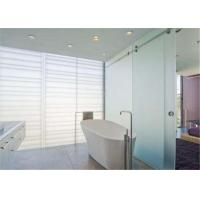 China Sandblasted Frosted Glass Sheets 8mm Thickness Interior Acid Etched Doors Glass wholesale