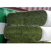 China Colored Non Toxic Large Round Hay Bale Covers , Breathble Hay Bale Fabric wholesale
