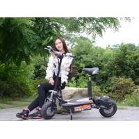 China 48V Two Wheel Electric Scooter For Adults / 1000W Electric Moped Scooter wholesale