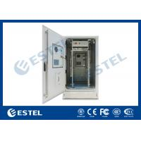 China IP65 Outdoor Telecom Cabinet With Front And Rear Door on sale