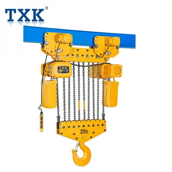 Quality TXK 15 Ton Chain Hoist With Motor Hoist 380V Power IP55 Protection Level for sale