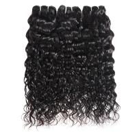 China 100% Raw Unprocessed Peruvian Human Water Wave Hair Full Cuticle Aligned on sale