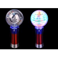 China Magic Flashing Spinner Toy Crazy Toddlers Light Up Spinning Ball Wand 10 Leds wholesale