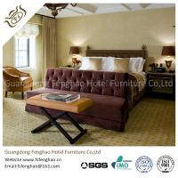 Luxury Suite Full Bedroom Furniture Sets For Holiday  / Resort Hotel Room Table And Chairs
