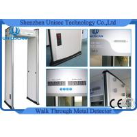 Buy cheap High Density archway metal detector ,walk through gate 33zones  use outdoor from wholesalers