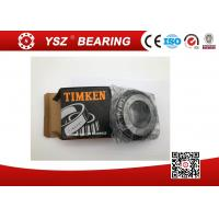China JW6049 / JW6010 Single Row Tapered Roller Bearings P5 60x125x37 MM Size wholesale
