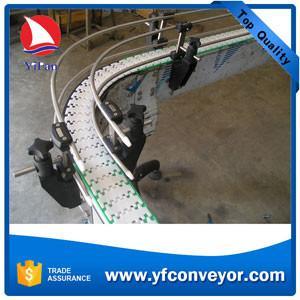 China Flexible Plastic Slat Chain Conveyor wholesale
