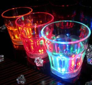 China Flashing Liquid Activated Shot Glass/Mug on sale