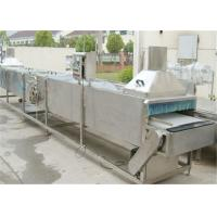 Can Exhaust Box Fruit Canning Machine , Vegetables Fruit Processing Equipment
