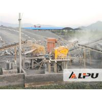 China River Stone Crusher Machine , Cobble / Limestone Aggregate Crushing Plant 450t/h on sale