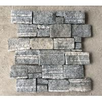 China Cloudy Grey Granite Z Stone Cladding back with Steel Wire,Natural Z Stone Panel,Culture Stone Wall on sale