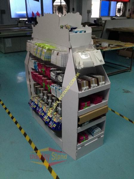 Exhibition Stand Weight : Light weight pop cardboard displays free display stand