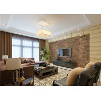 China 3D Brick Green Plants Pattern Contemporary Wall Covering For TV Background wholesale