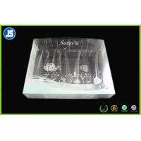 China Cosmetic Clear Plastic Folding Cartons , Biodegradable PVC Packaging Boxes wholesale