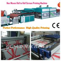 China two color Non Woven Screen Printing Machine for nonwoven bags wholesale