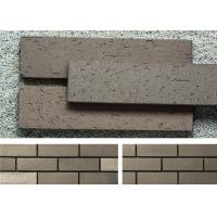 China Outside Brick Veneer Wall Panels Clay Wall Building Material With Rough Surface wholesale