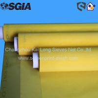 China Monofilament Polyester Screen Print Mesh For Tiles And Glass Decoration wholesale