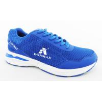 China Blue / Black Sketcher Sports Shoes Breathable Sport Running Shoes wholesale