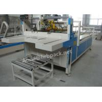 Buy cheap 380V 50Hz Voltage Carton Folding And Gluing Machine Electric Driven Type from wholesalers
