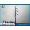 China 110KV Q235 galvanizou Electric Power octogonal de aço Polos/torre da transmissão de energia wholesale